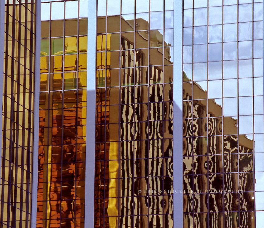 Windows Building Reflections
