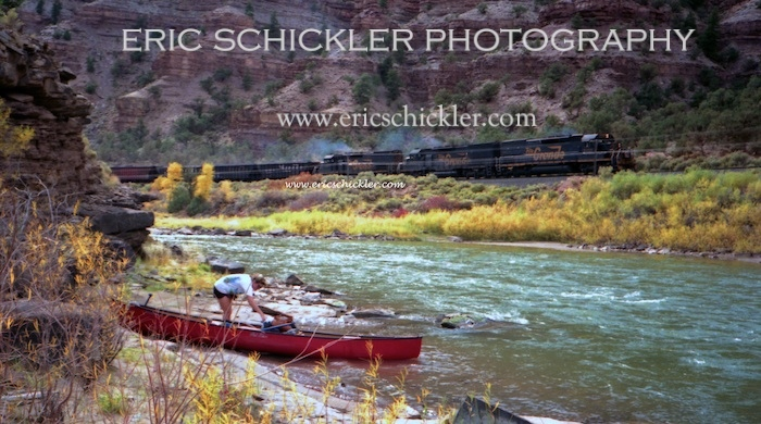 Colorado River Train & Canoe on Shore-HI-RES - Version 2 2009-05-23 292014-05-12